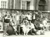 Zjazd w Gdańsku w 1989 roku z okazji jarmarku dominikańskiego, wśród uczestników Magda Dołgowicz, Lesław Olczak, Jarosław Kotarski, Marcin Szklarski, Arni i Marek Sokólski