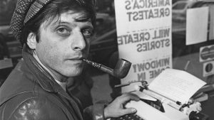 American writer, Harlan Ellison, Boston, Massachusetts, USA, 9th November 1977. (Photo by Barbara Alper/Getty Images)